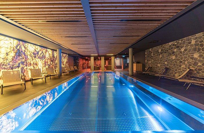 SPA Area - Indoor pool: Chalet Obergurgl Luxury Apartments