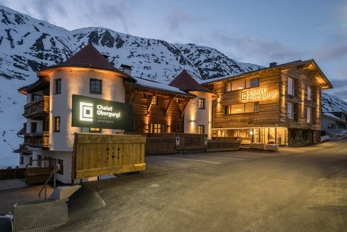 Chalet Obergurgl Luxury Apartments from streetside